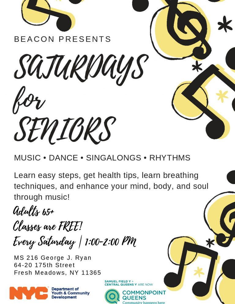 Saturdays for Seniors BEACON MS216