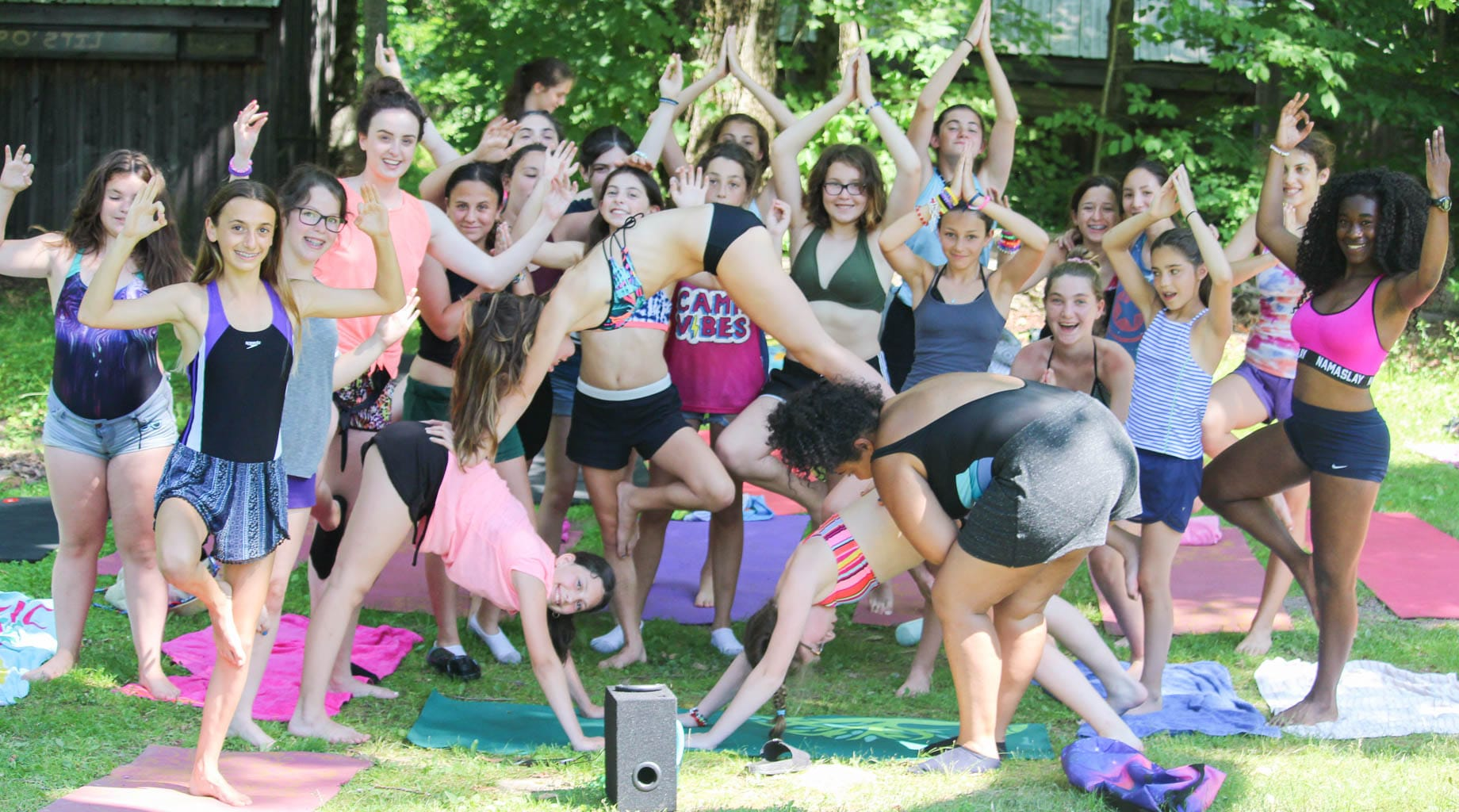 Check out our Camp Poyntelle sleepaway camp