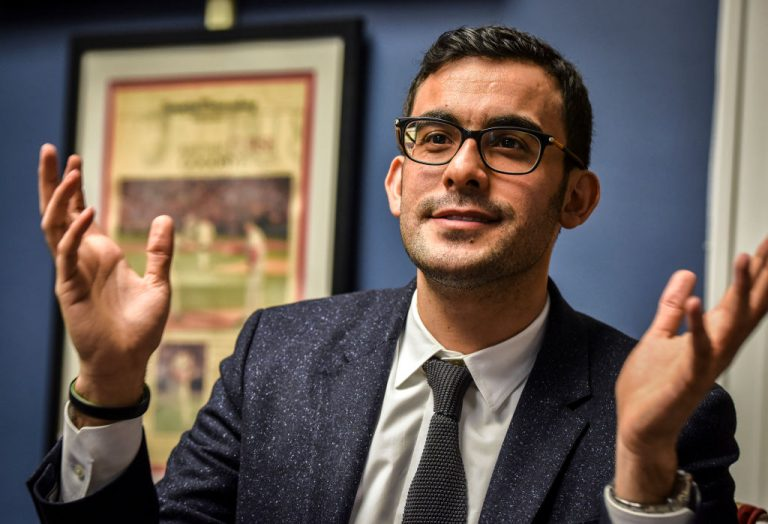 Yousef Bashir is a Palestinian who now works on Capitol Hill as a policy guy for Rep. Gerry Connolly (D-VA), in Washington, DC.