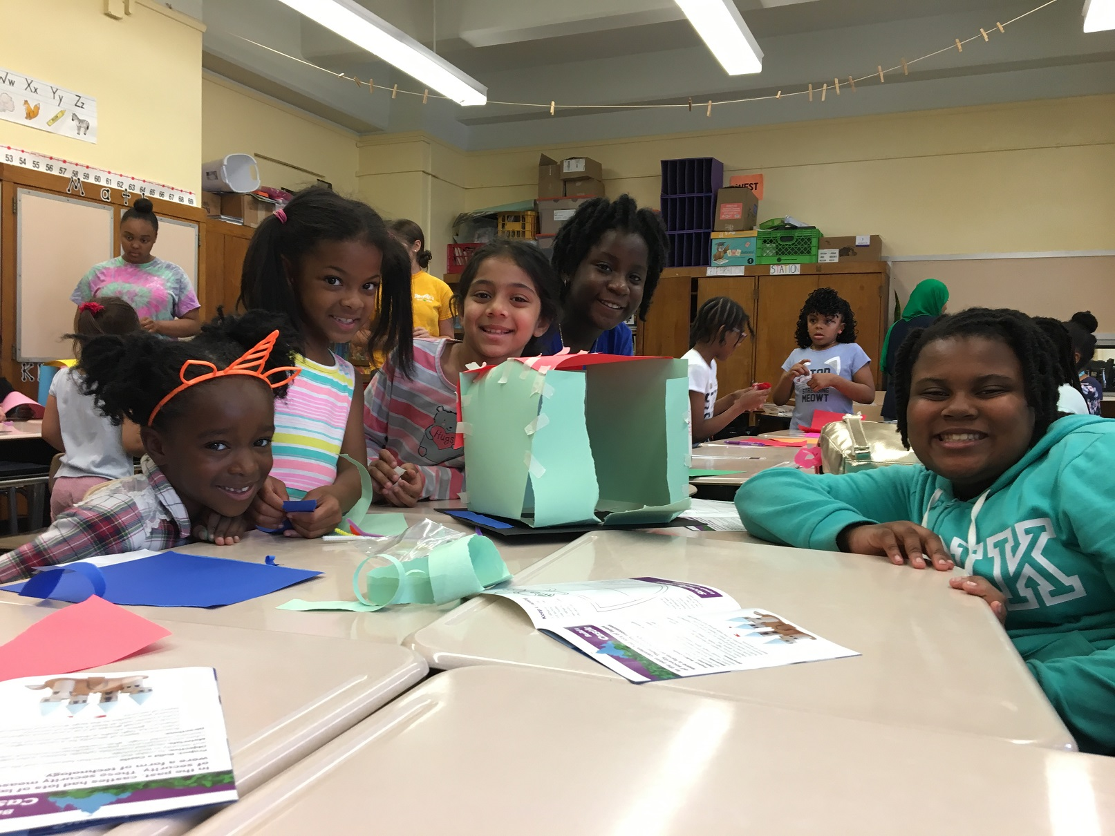 Build your Future: Girl Scouts of Greater New York bring STEM to Commonpoint Queens