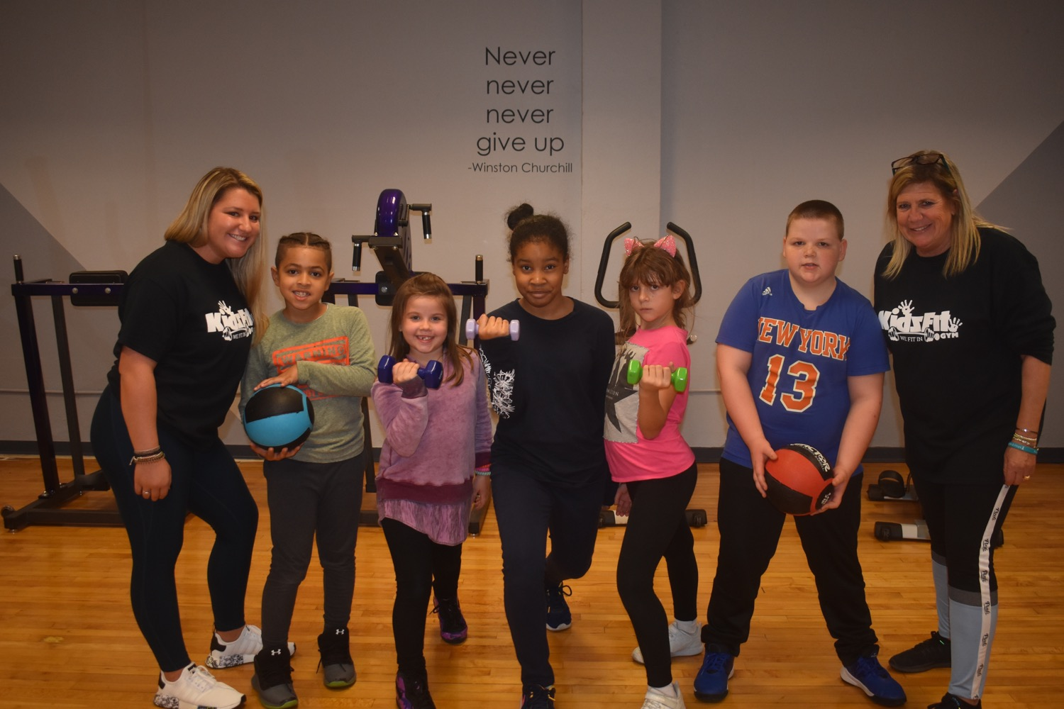 Commonpoint Queens in Little Neck unveils new kids-only exercise program