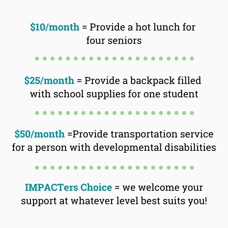 updated impact giving graphic