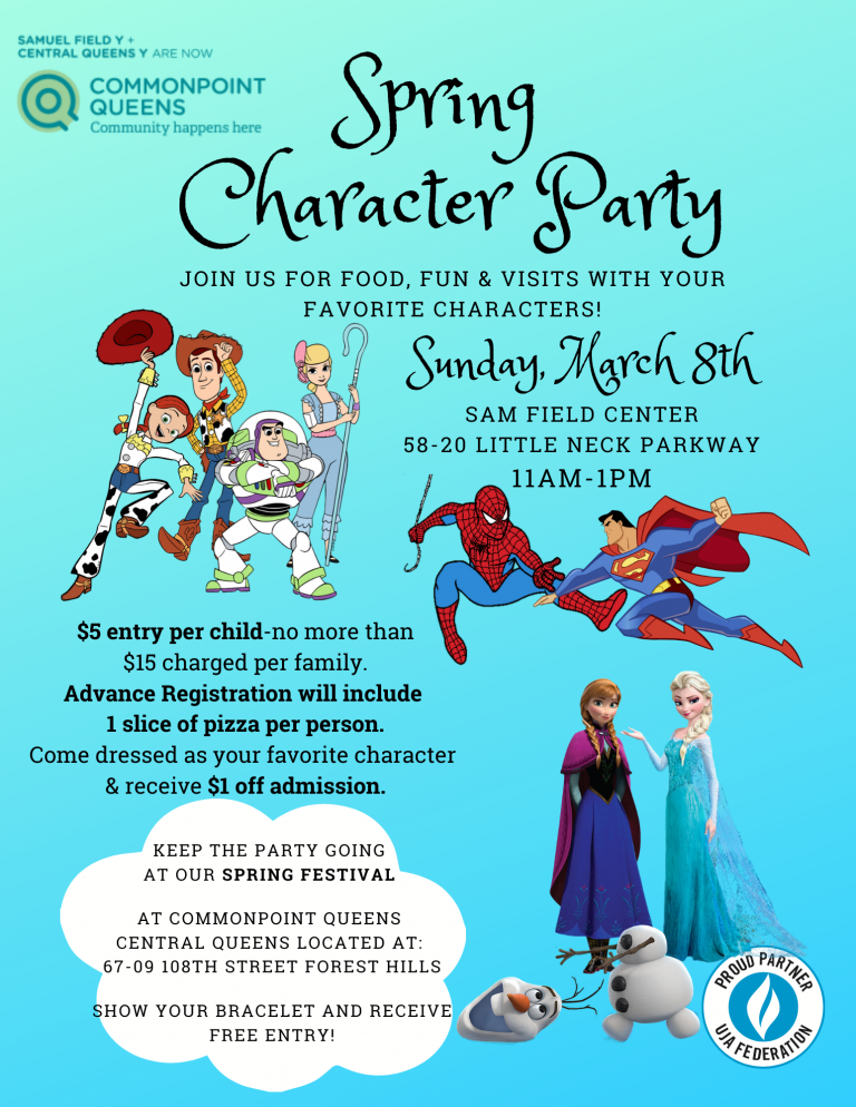 Spring Character party purim