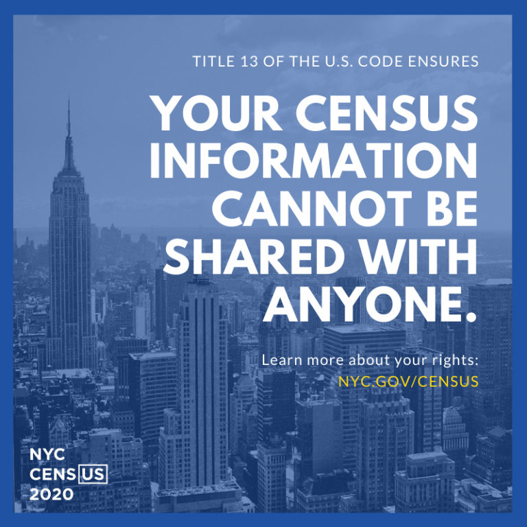 2020 census information safety